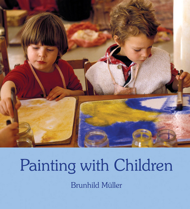 Brunhild Müller: Painting with children (Slikanje z otroci)